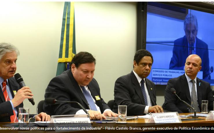 Desenvolvimento do Brasil depende da força da indústria
