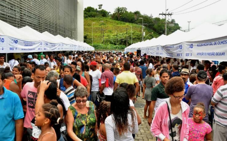 Ação Global leva serviços gratuitos à comunidade em Salvador